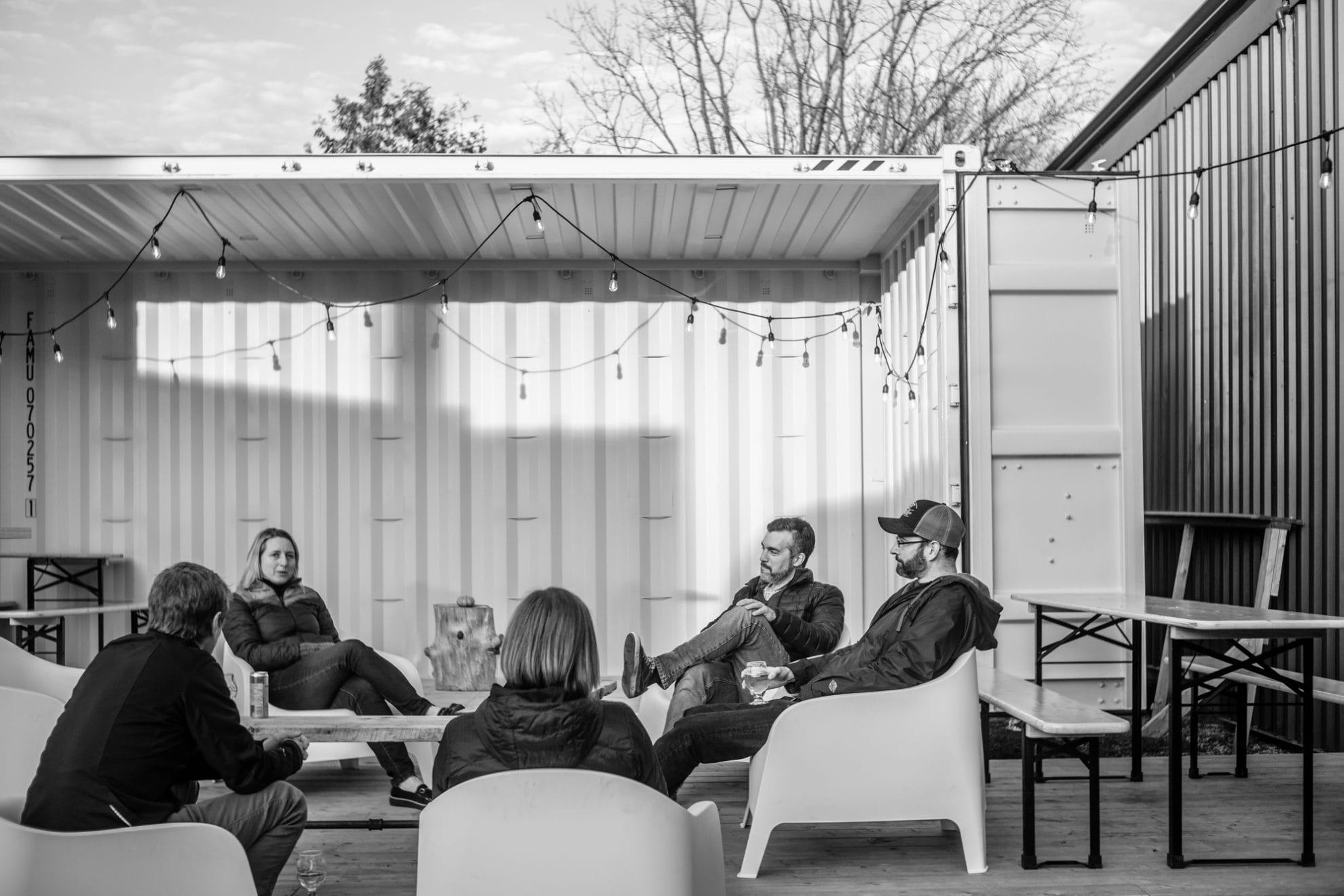 Ventures team socializing